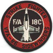 VFA-86 Aircraft 'Bullet' Patch