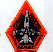 VFA-86 'Diamond' Aircraft Patch