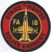VFA-87 Aircraft Patch (Red)