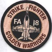VFA-87 Aircraft Patch (Desert)