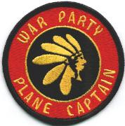 VFA-87 Plane Captain Patch (Red)