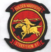VFA-87 Squadron Patch (Red)