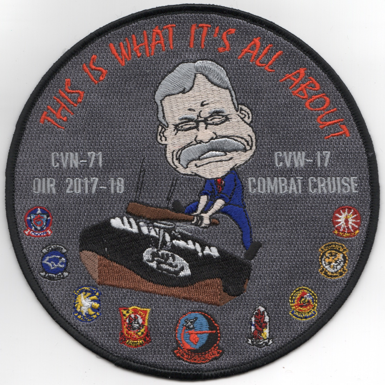 VFA-94 2017 OIR 'All About' Patch (Large)