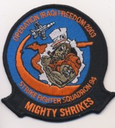 VFA-94 OIF 2003 Patch