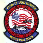 CVN-72/VFA-94 WestPac 2003 Cruise Patch