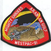 CVN-72/VFA-94 WestPac 1991 Cruise Patch