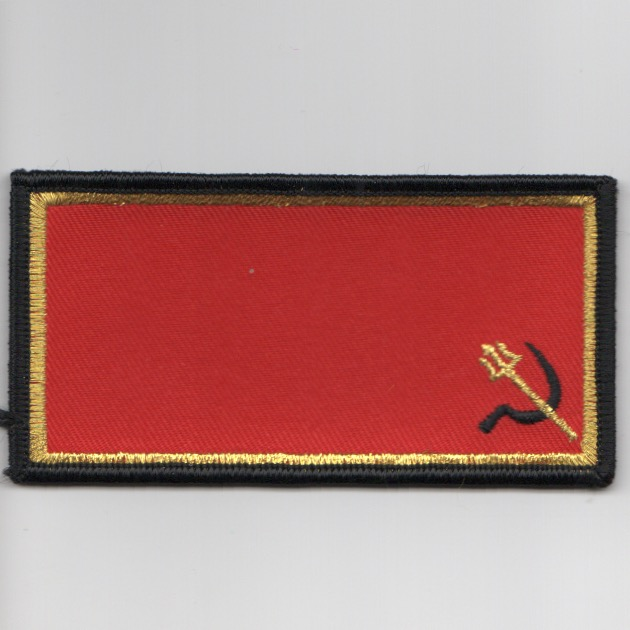 VFA-97 'RED AIR' Nametag (NO WINGS/No Velcro)