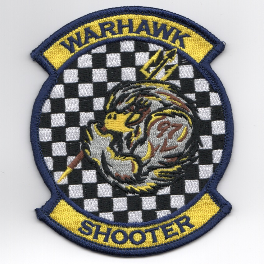 VFA-97 'Warhawk SHOOTER' Patch