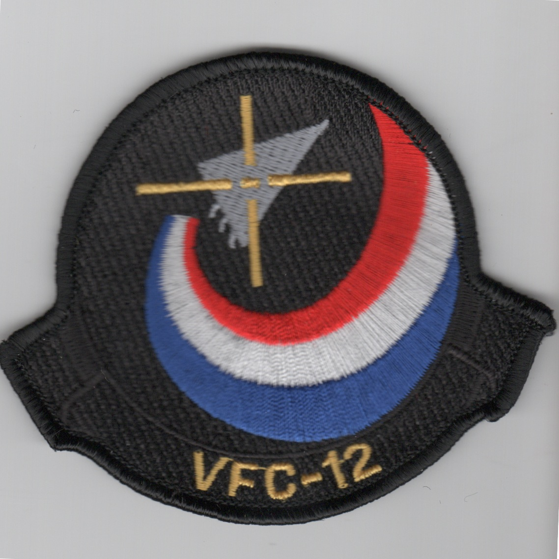 VFC-12 Adversary Squadron Patch (Black)