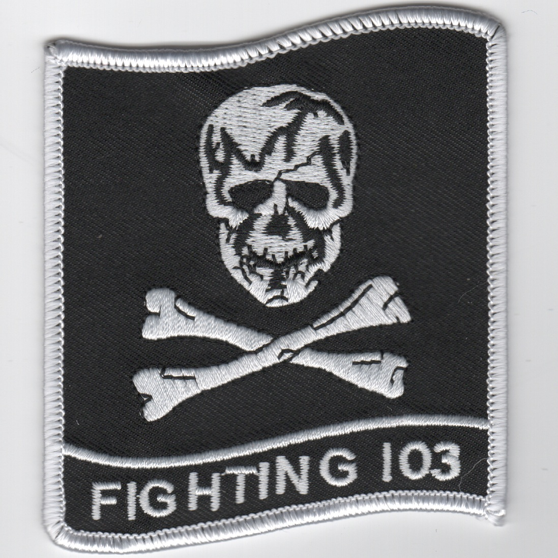 VF-103 Squadron Patch (Black/3.5in)