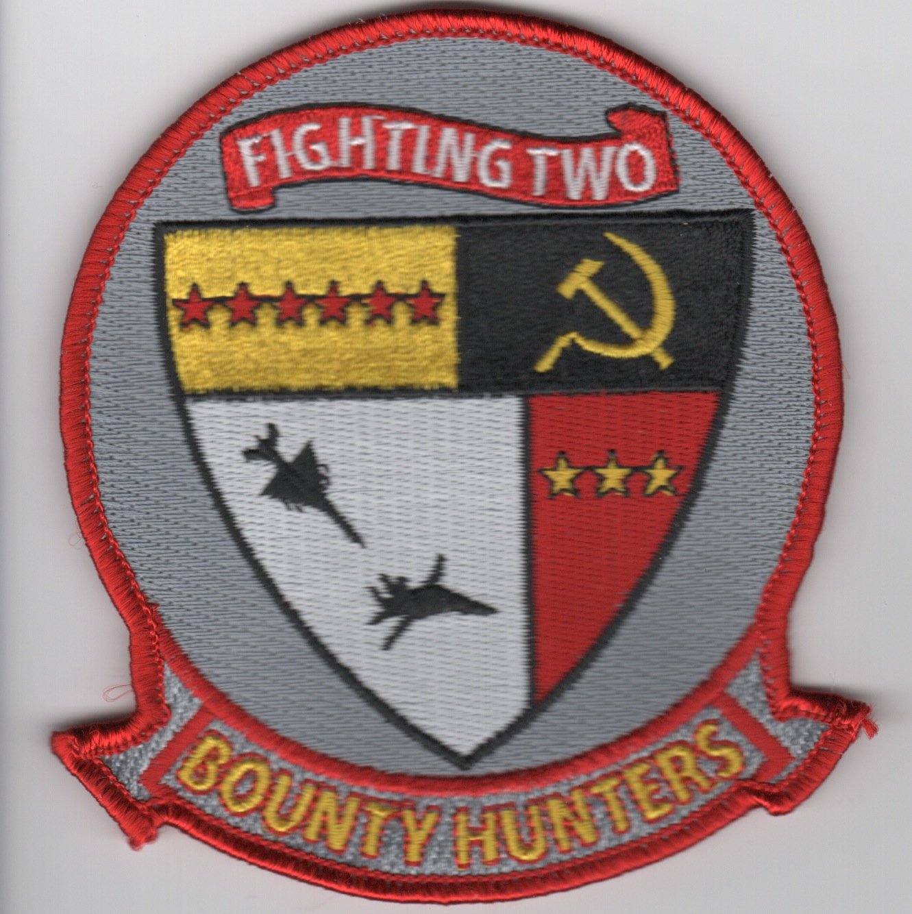 VFA-2 Squadron Patch (Red Border)
