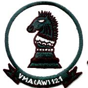 VMA(AW)-121 Squadron Patch (Round/Old-Repro)