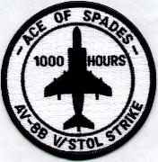 VMA-231 1000 Hours Patch