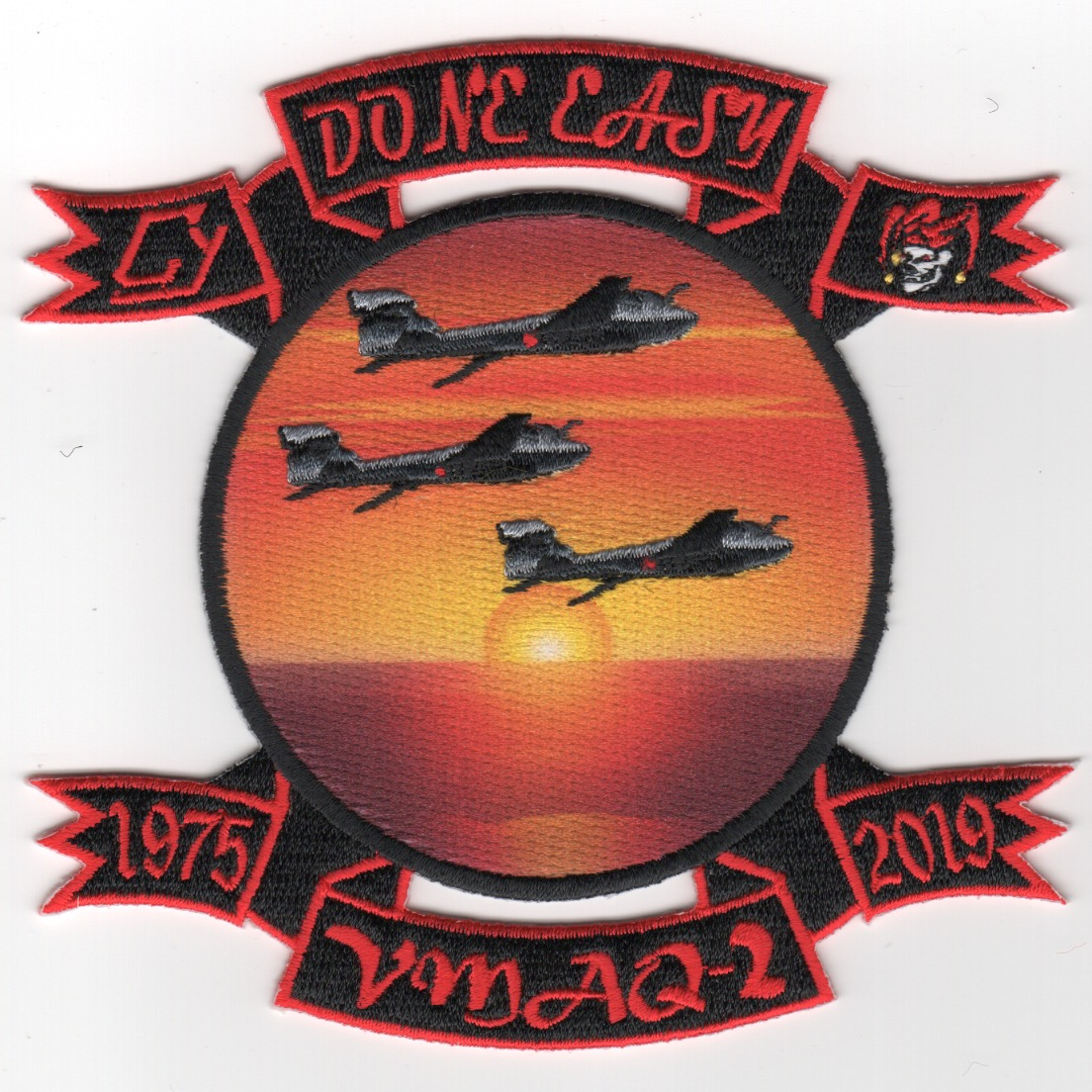 VMAQ-2 'DONE EASY' Decomm Patch