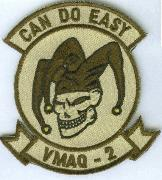 VMAQ-2 'Can Do' (Plain Desert) Patch