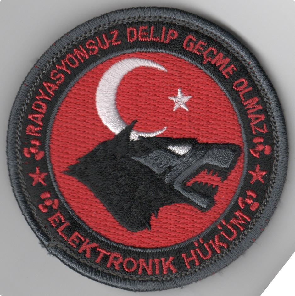 VMAQ-3 Deployed Bullet Patch (Red/Wolfhead)