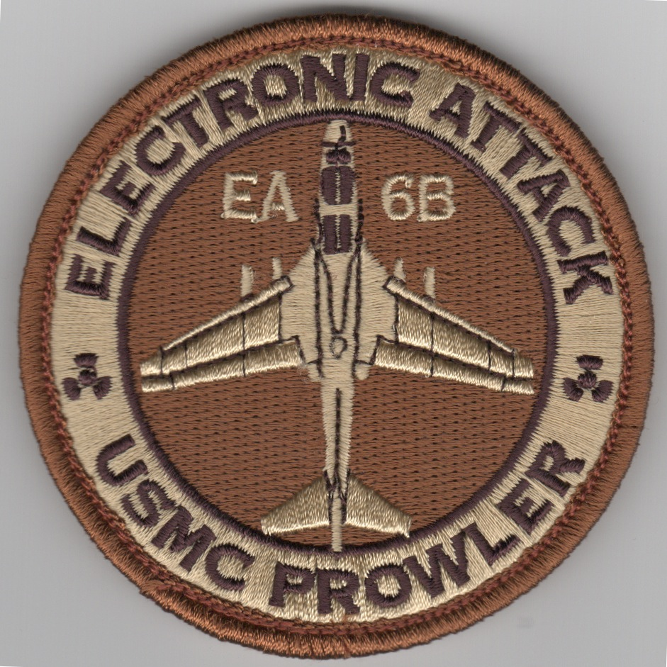 VMAQ-3 Deployed EA-6B Bullet Patch ('REGULAR' Des)