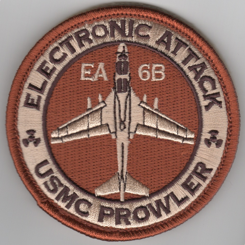 VMAQ-3 Deployed EA-6B Bullet Patch ('LIGHT' Des)