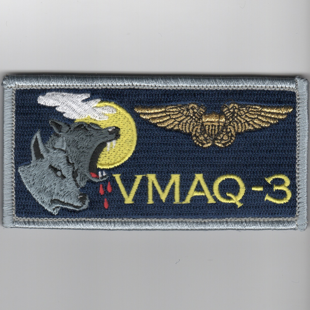 'VMAQ-3' ECMO Nametag (Blue)