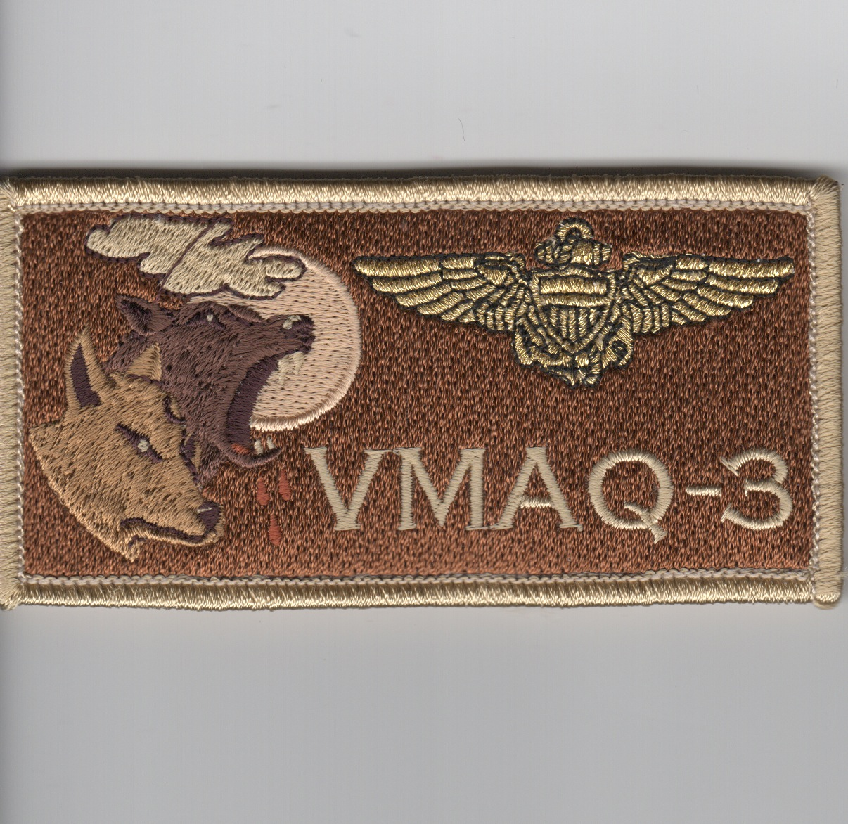 'VMAQ-3' Pilot Nametag ('REGULAR' Des)