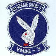 VMAQ-3 'Deliberate Guard 97' Patch