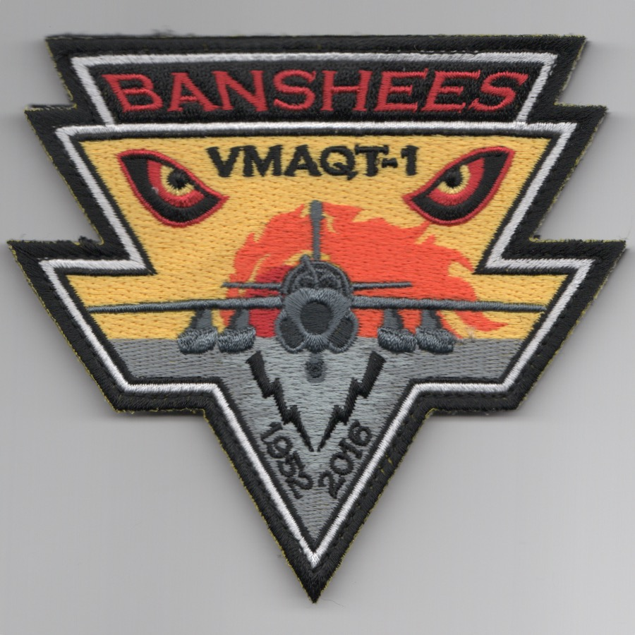 VMAQ-1 'Decommission' EYES (Tri) Patch