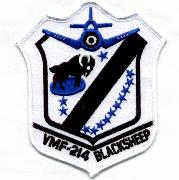 VMF-214 Squadron Patch