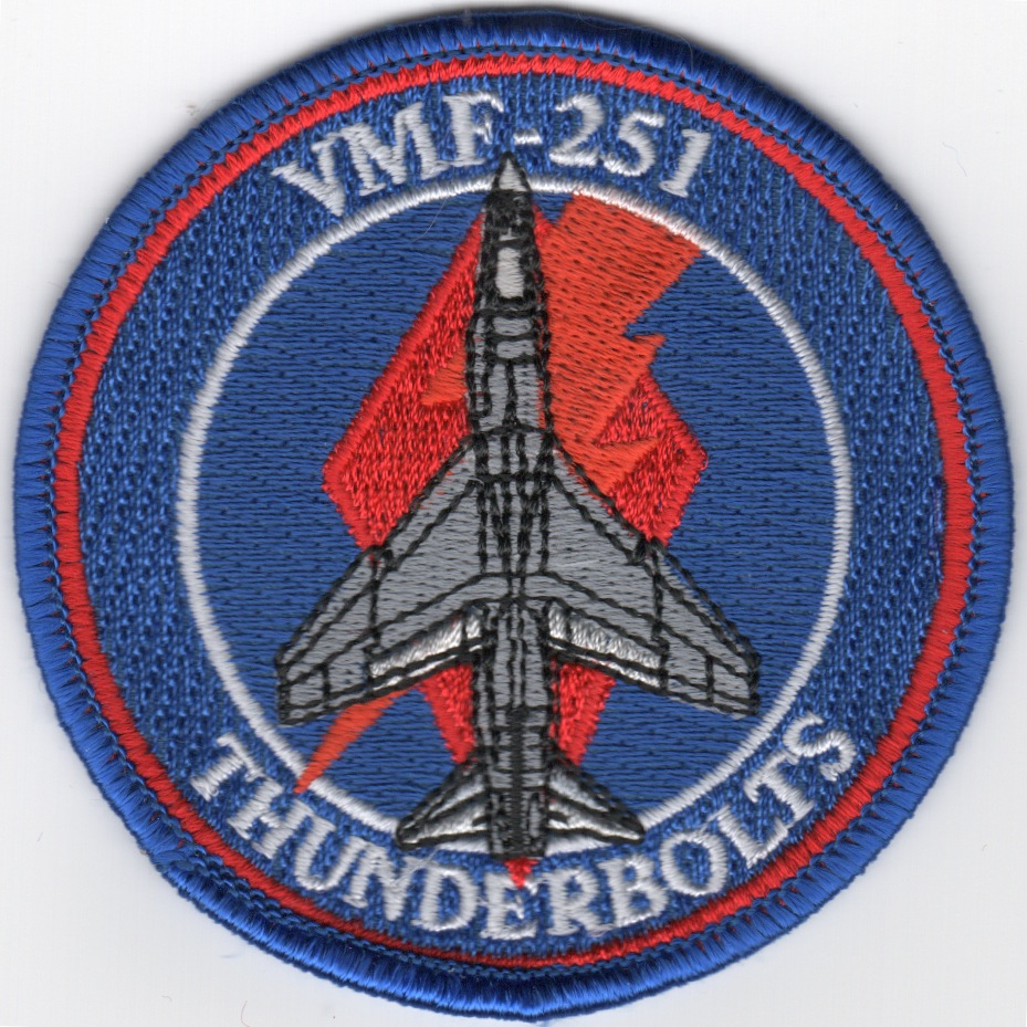 VMF-251 F-8 A/C 'Bullet' Patch