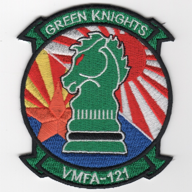 VMFA(AW)-121 'TWO-FLAGS' Theater Patch