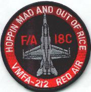 THEIR LATEST patch VMFA 115 RED AIR