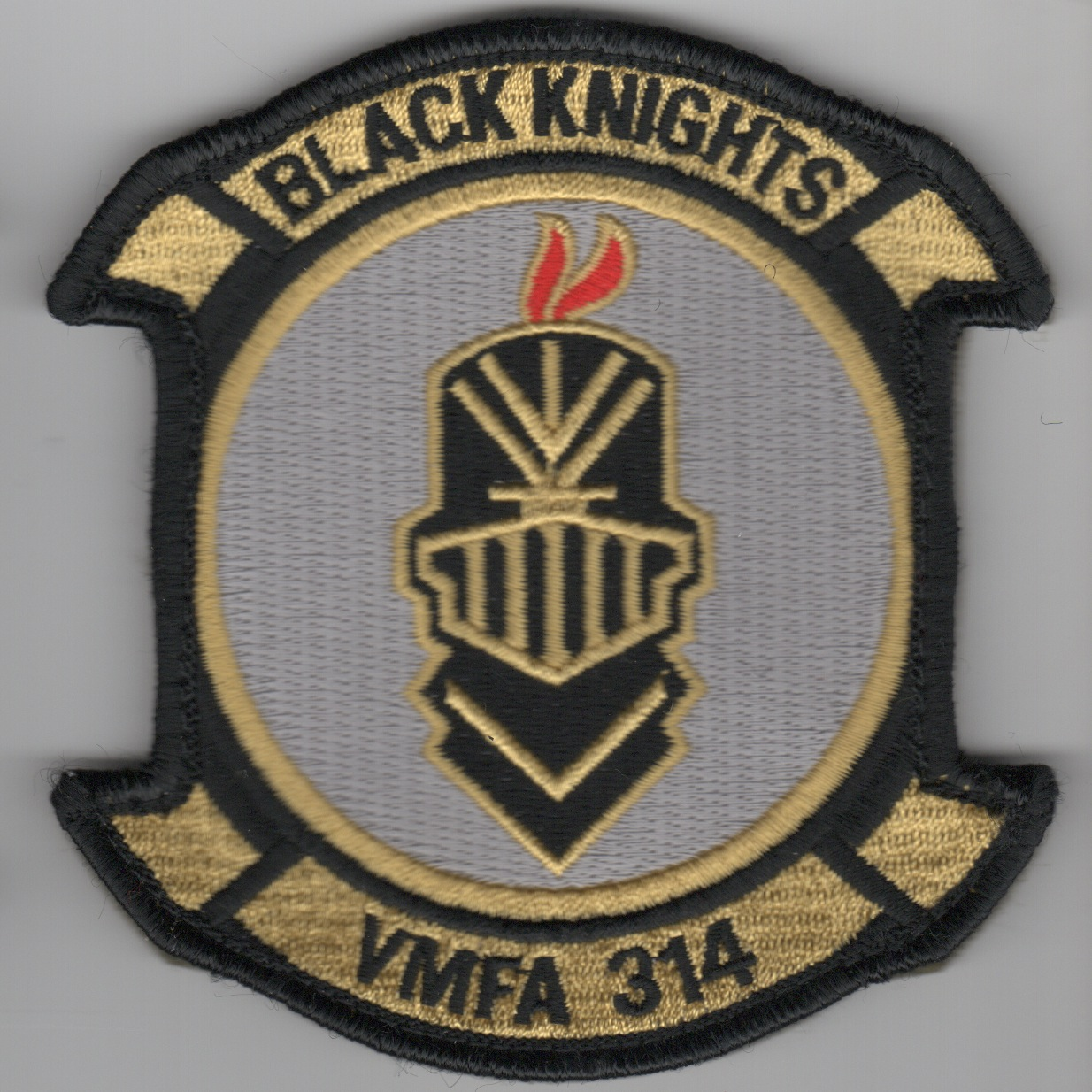 VMFA-314 Squadron Patch (Yellow)