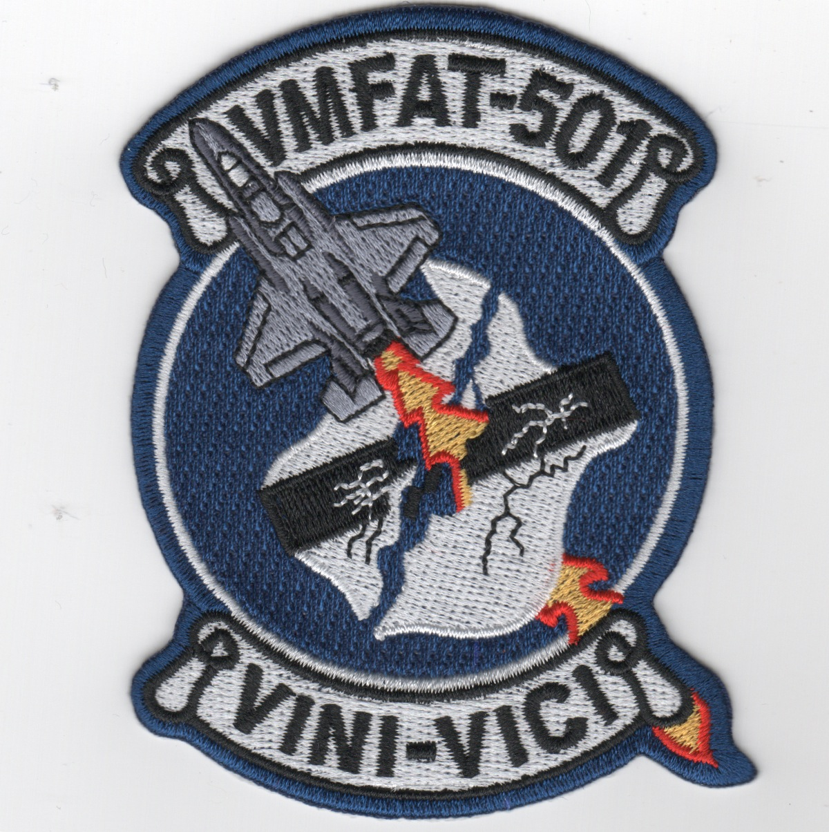 VMFAT-501 Squadron Patch (F-35)