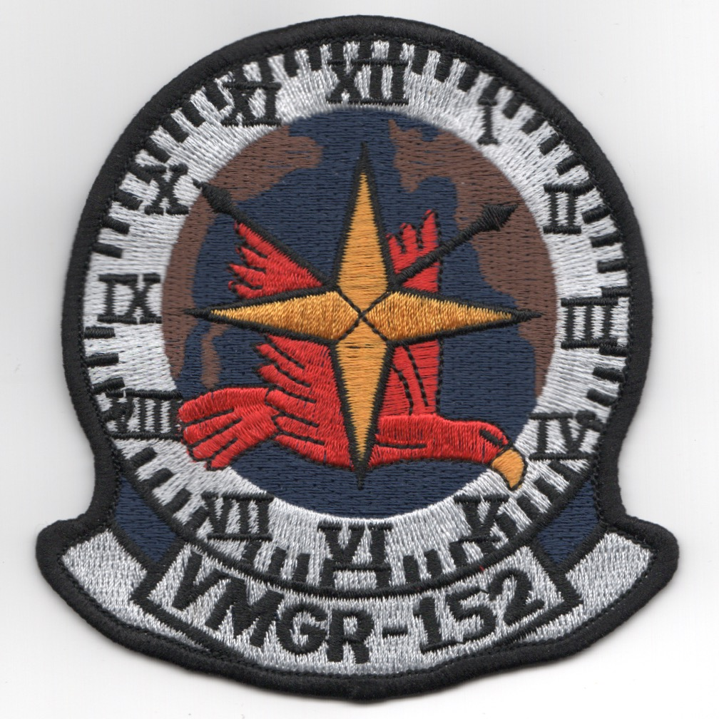 VMGR-152 Squadron Patch (White)