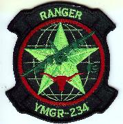 VMGR-234 Squadron Patch (Neon)