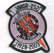 VMGR-252 75th Anniversary Patch