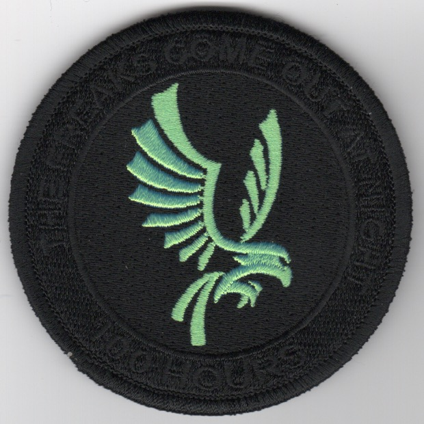 VMM-266 '100 Hours' Patch (Black)