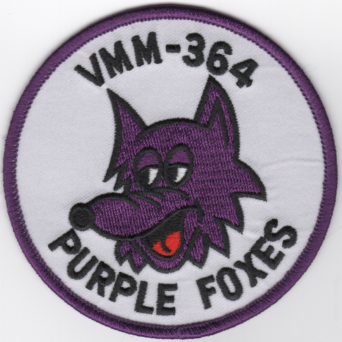VMM-364 'Purple Foxes' (White)