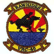 VRC-40 Squadron Patch (Yellow)