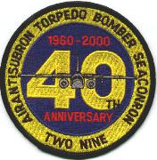VS-29 40th Anniversary Patch