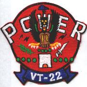 VT-22 Squadron Patch (Old Repro)