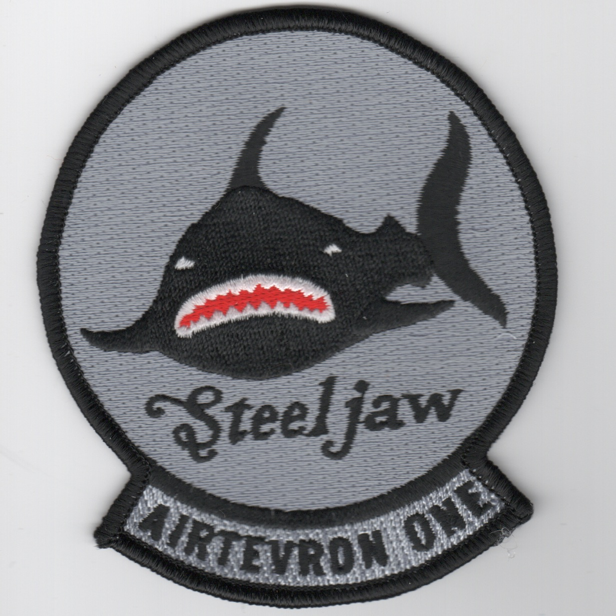 VX-1 'Steeljaw' Patch (Blk Shark)
