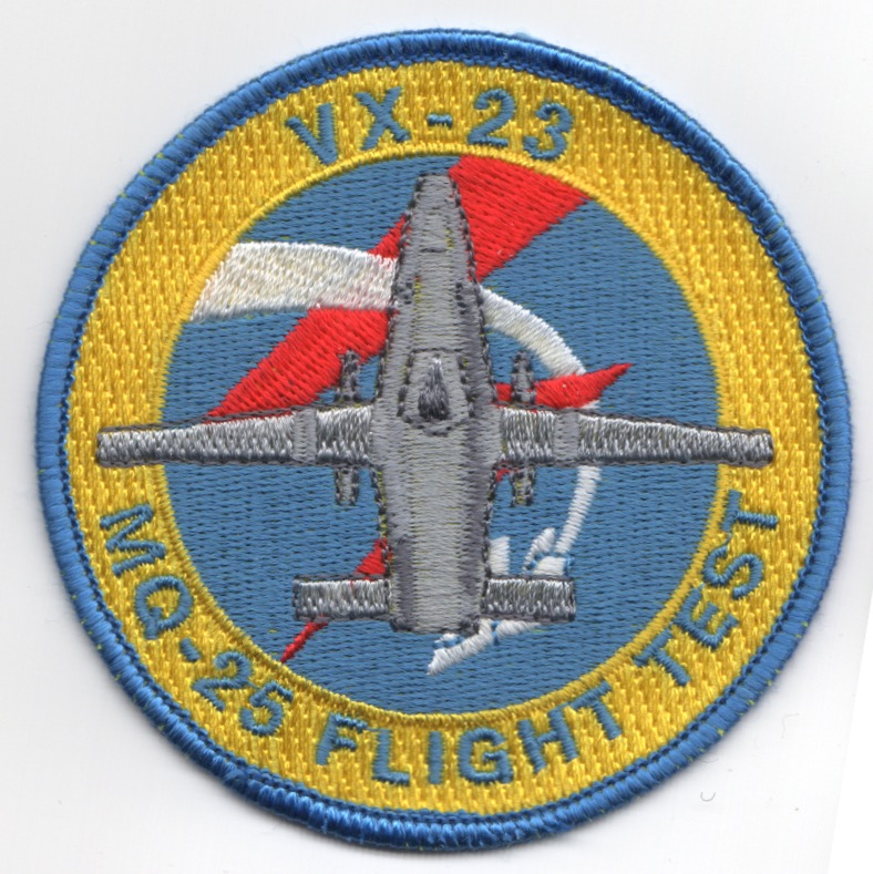 VX-23 MQ-25 Flight Test Patch