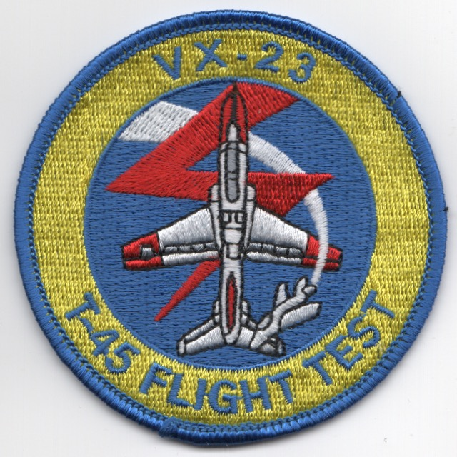 VX-23 T-45 Flight Test Patch