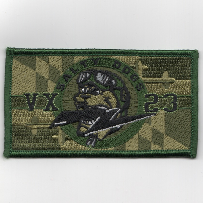 VX-23 'SALTY DOGS' Patch (Green)