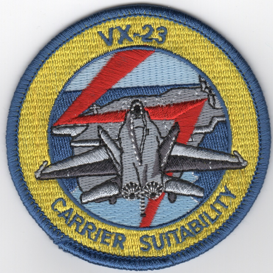 VX-23 Carrier Suitability Patch
