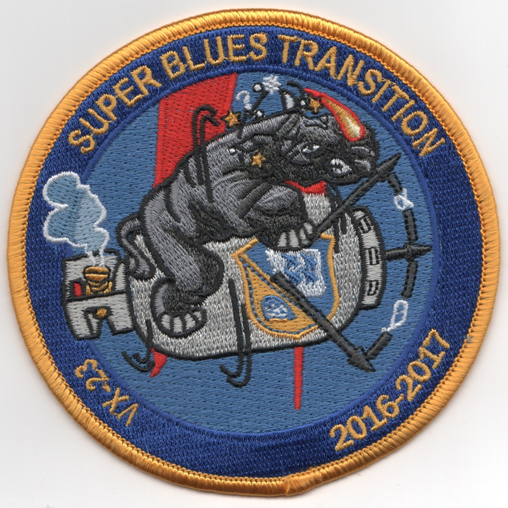 VX-23 'Super Blues Transition' Patch