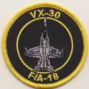 VX-30 Aircraft Patch (Rnd)