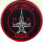 VX-31 Aircraft Patch (Rnd)
