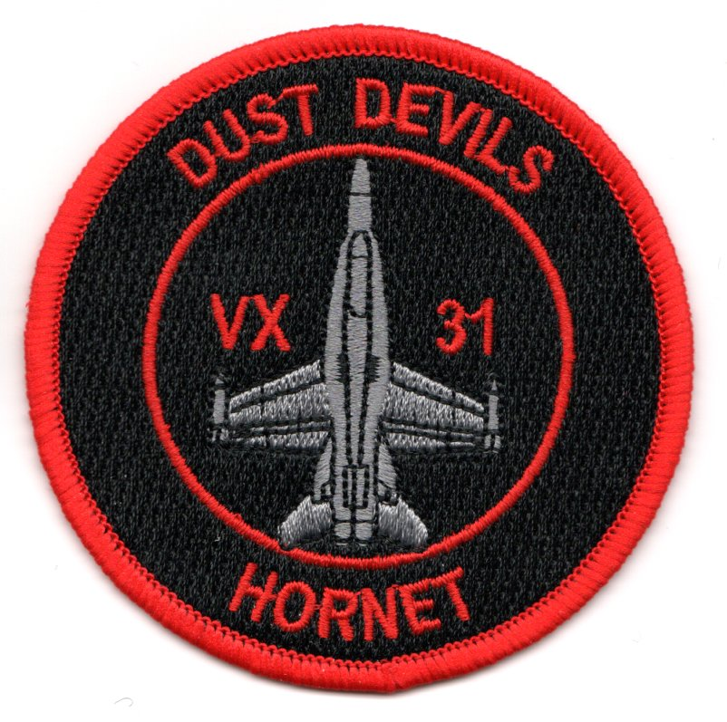 VX-31 'Bullet' Patch (Red/Black)