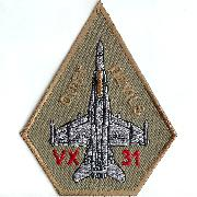 VX-31 Aircraft Patch (Des)